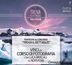 Concorso a premi Fujifilm Italia: vinci corso di fotografia in Norvegia - http://www.omaggiomania.com/concorsi-a-premi/concorso-premi-fujifilm-italia-vinci-corso-di-fotografia-norvegia/