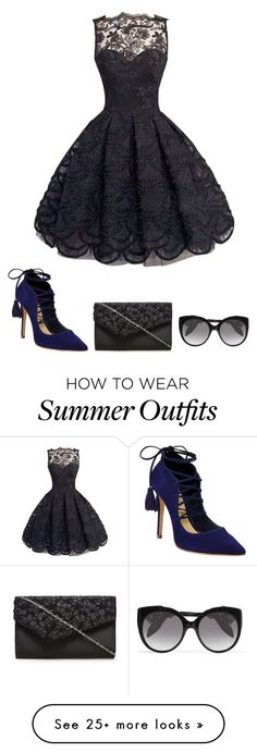 "Summer Outfits : ""Outfit"" by kgtbug14 on Polyvore featuring Schutz and Alexander McQuee"