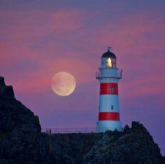 "Cape Palliser Lighthouse from Wairarapa (@wairarapa) on Instagram: ""Gorgeous colours at Cape Palliser! Thanks @philipnixey for the great shot!""#capepalliserlighthouseNZ"