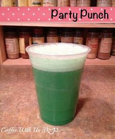 Party Punch by Coffee With Us 3 #recipes / any color you desire