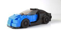 Speed Champions 2017 Bugatti Chiron (with instructions) | by hachiroku24