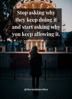 Stop asking why they keep doing it and start asking why you keep allowing it. #Selfworthquotes #Selfinspirationalquotes #Selfrespectquotes #Selfconfidencequotes #Inspiringquotes #Quotesaboutstrength #Karmaquotes #Faithquotes #Selfaccpetancequotes #Kindnessquotes #Selflovequotes #Beingrealquotes #Beingindependentquotes #Motivationalquotes #Inspirationalquotes #Lifequotes #Dailyquotes #Beautifulquotes #Amazingquotes #Awesomequote #Quoteoftheday #Quotetoinspireyou #Quotesandsayings…