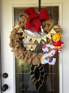 The Southern Front Door: A Birthday Wreath with Daniel Tiger