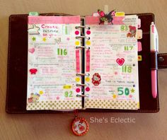 She's Eclectic: My week in my Filofax #2