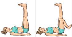 Wystarczą 3 minuty przed snem! Ćwiczenia w łożku, które wyszczuplają nogi | 5 Minut dla Zdrowia Health Fitness, Disney Characters, Sports, Exercises, Illustration, Diet, Hs Sports, Exercise Routines, Excercise