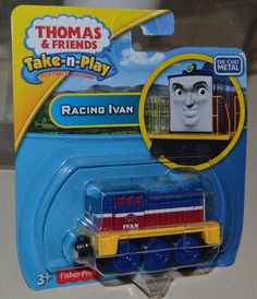 Thomas and Friends Take n Play RACING IVAN Portable NEW #FisherPrice