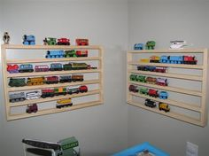 Storage for cars/trains