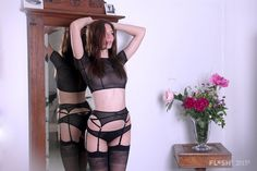 afe226855c This seductive garter belt compliments your waistline and adds a seductive  flair to your choice of