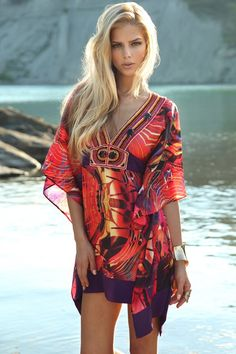Zeugari Beachwear Suvi Siren Dress/Tunic