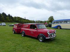 https://flic.kr/p/nv3ffb | P1020462. EHL 663D Mini Van & Trailer Laichmoray Hotel | Benromach Distillery vehicle rally Grant Park Forres