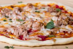 Ropogós pizza, élesztő nélkül