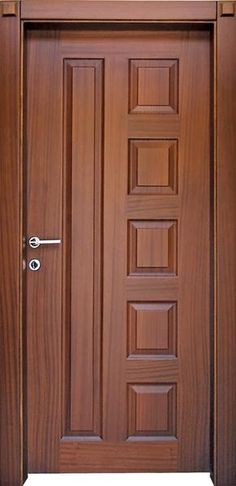 Top 50 Modern Wooden Door Design Ideas You Want To Choose Them For Your Home - E. - Wood doors interior - Top 50 Modern Wooden Door Design Ideas You Want To Choose Them For Your Home – Engineering Discov - Bedroom Door Design, Door Gate Design, Door Design Interior, House Main Door Design, Home Front Door Design, Wooden Interior Doors, Main Entrance Door Design, Interior Styling, Wooden Front Door Design
