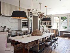 Wohnen im Landhausstil - wie Gwyneth Paltrow Küche