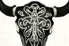 Cally Creates: Mosaic Skulls by Crystal Thomas