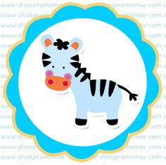 The Jungle Free Printable Labels, Stickers or Toppers.