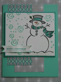Frosty Christmas by hmkat - Cards and Paper Crafts at Splitcoaststampers