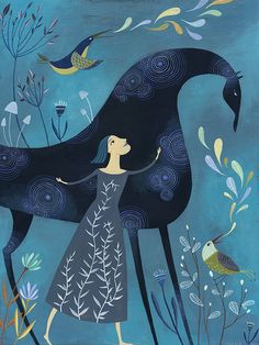 I Am Watched Over. Open edition Giclee print by por TracieGrimwood, $120.00