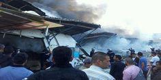 تونس العاصمة : حريق ضخم يخلف خسائر مادية ولا وجود أضرار بشرية