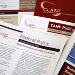 CLASP seeks to improve the lives of low-income people.  They develop and advocate for federal, state and local policies to strengthen families and create pathways to education and work.