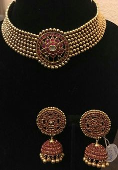 Buy Jewellery Online in India Indian Jewelry Sets, Indian Wedding Jewelry, India Jewelry, Bridal Jewelry, Temple Jewellery, Buy Jewellery Online, Gold Jewellery Design, Gold Jewelry, Jewelry Patterns