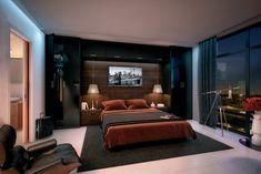 aménagement chambre à coucher