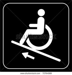lift disabled icon  sign vector by Dragana Gerasimoski, via Shutterstock