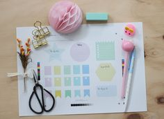 Little Hannah: Descargable: Post-it y etiquetas para tu agenda