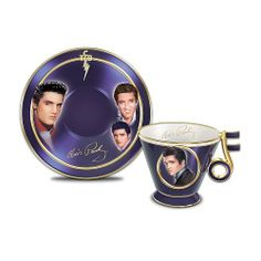 Elvis Presley teacup | Elvis Presley Heirloom Porcelain Teacup And Saucer: Blockbuster Debut ...