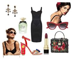 """""""Dolce and Gabbana inspired outfit"""" by karma-lago-barrow on Polyvore featuring moda e Dolce&Gabbana"""