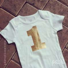 Baby Happy Birthday Monthly or Yearly Bodysuit by pdstudiosstore, $18.00