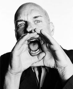 """Brian Eno- The Father of Ambient Music. """"The basis of computer work is predicated on the idea that only the brain makes decisions and only the index finger does the work.""""  Brian Eno"""