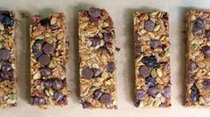 Healthy granola bars