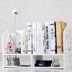 Modelo blanco Cubo de Agua Moderno Escritorio Book Shelf 2016 - $32.99