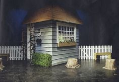 Thunder on Sycamore Street by Reginald Rose April 2006 Exterior of center stage house Scenic Design by Michael Berezney Lighting Design by Benjamin Motter Flint Central High School Theatre Magnet