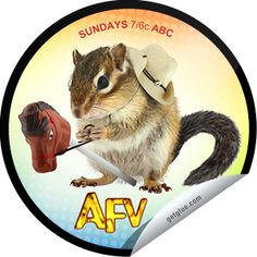 Steffie Doll's AFV: Dad Gets a Colorful Makeover from His Daughter Sticker America's Funniest Home Videos, Read Newspaper, Chipmunks, Dads, Daughter, Stock Photos, Reading, Funny, Cute