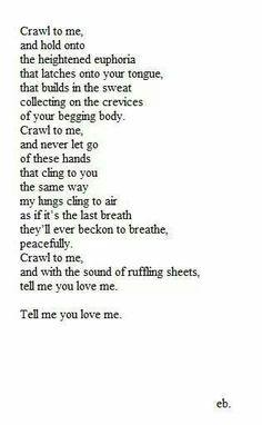 Erotic description of sex poems