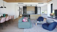 An Interior Designer's 'Tactile And Feminine' Canberra Home (The Design Files) Brick Cottage, Decoration Inspiration, Design Inspiration, Banquette Seating, Apartment Complexes, Architecture Awards, Minimal Home, Victorian Terrace, The Design Files
