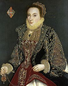 1573 Mary Denton attributed to George Gower