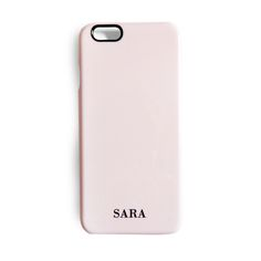 Minimal style // The minimal dusty pink phone case with monogramming