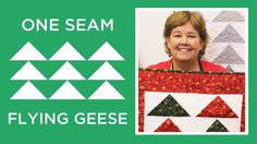 One Seam Flying Geese Quilt | Always Great, Always Free Quilting Tutorials