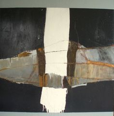 "Paolo Mara, ""Black Out"", acrylic on canvas"