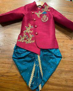 Baby Boy Outfits, Kids Outfits, Cool Outfits, Kids Wear Boys, Boys Kurta Design, Kids Ethnic Wear, Mens Sherwani, Indian Groom, Mens Essentials