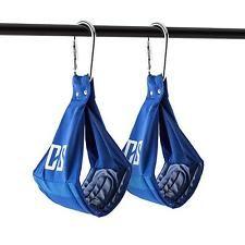 Capital sports armlug a partir de slings correas metal abdominales entrenamiento azul
