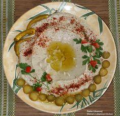LEBANESE RECIPES: Baba Ghanouj – Roasted Eggplants With Garlic and Tahini