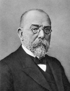 Robert Koch, a microbiologist who isolated Anthrax, Tuberculosis and Cholera