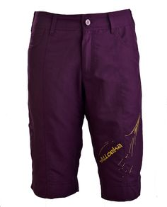 Loeka - Women's Cycling Shorts - All Mountain Ozust Italian Purple - Yes! And sized to fit real women!