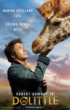 From Emma Thompson to Selena Gomez, check out who's voicing whom in the new Robert Downey Jr. Dr Dolittle, 2020 Movies, Comedy Movies, Imdb Movies, Iconic Movies, Tom Holland, Robert Jr, Robert Downey Jr., Eddie Murphy