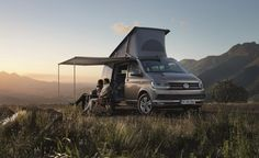 The Long, Strange Trip Continues with New VW Camper Bus ~ That hippie-era icon of slow and hazy motoring freedom, the VW camper, may be only a fading memory here, but the camper-ized Volkswagen van lives on in Europe.