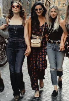 Troian Bellisario, Shay Mitchell & Ashley Benson in Italy for Troian Bellisario's Bachelorette Party