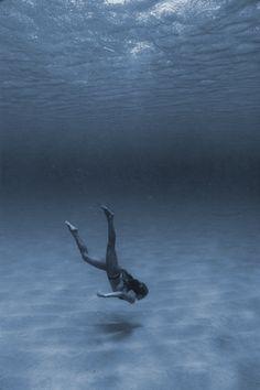 ...... peace, quiet, stillness of being under water.